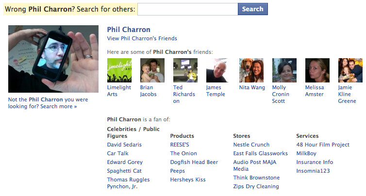 My Public Facebook Profile: Some of these people aren't even my <i>good</i> friends