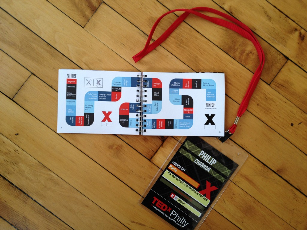 Phil's TEDxPhilly Badge