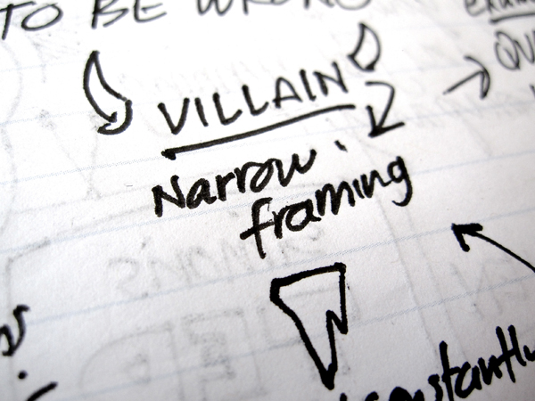 Fight narrow framing: Fall in love twice