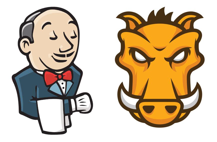 Jenkins & Grunt Logos