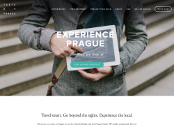 Taste of Prague website