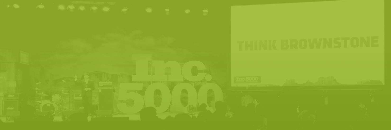 photo of Inc five thousand conference stage