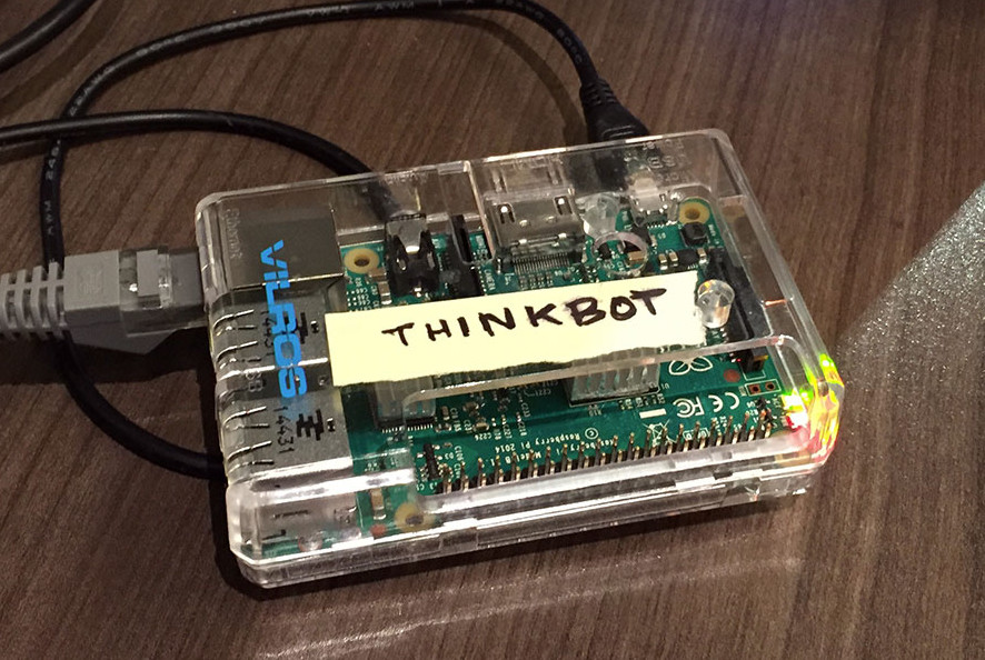 Image of Thinkbot's Raspberry Pi Hardware