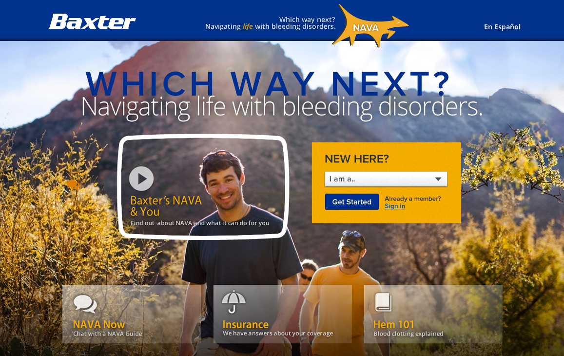 Baxter Insurance Homepage