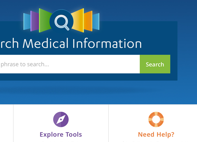 medical information portal search for health care professionals