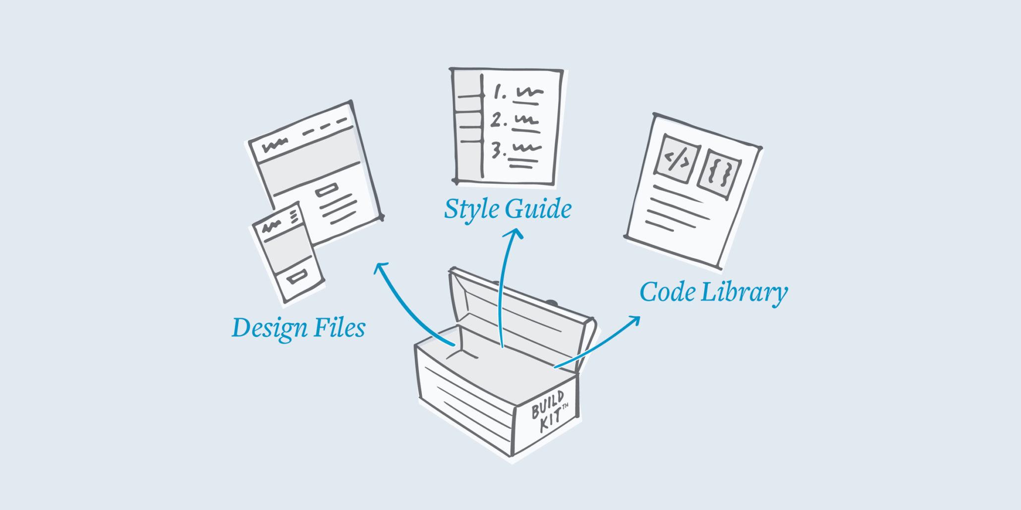 website build kit illustration