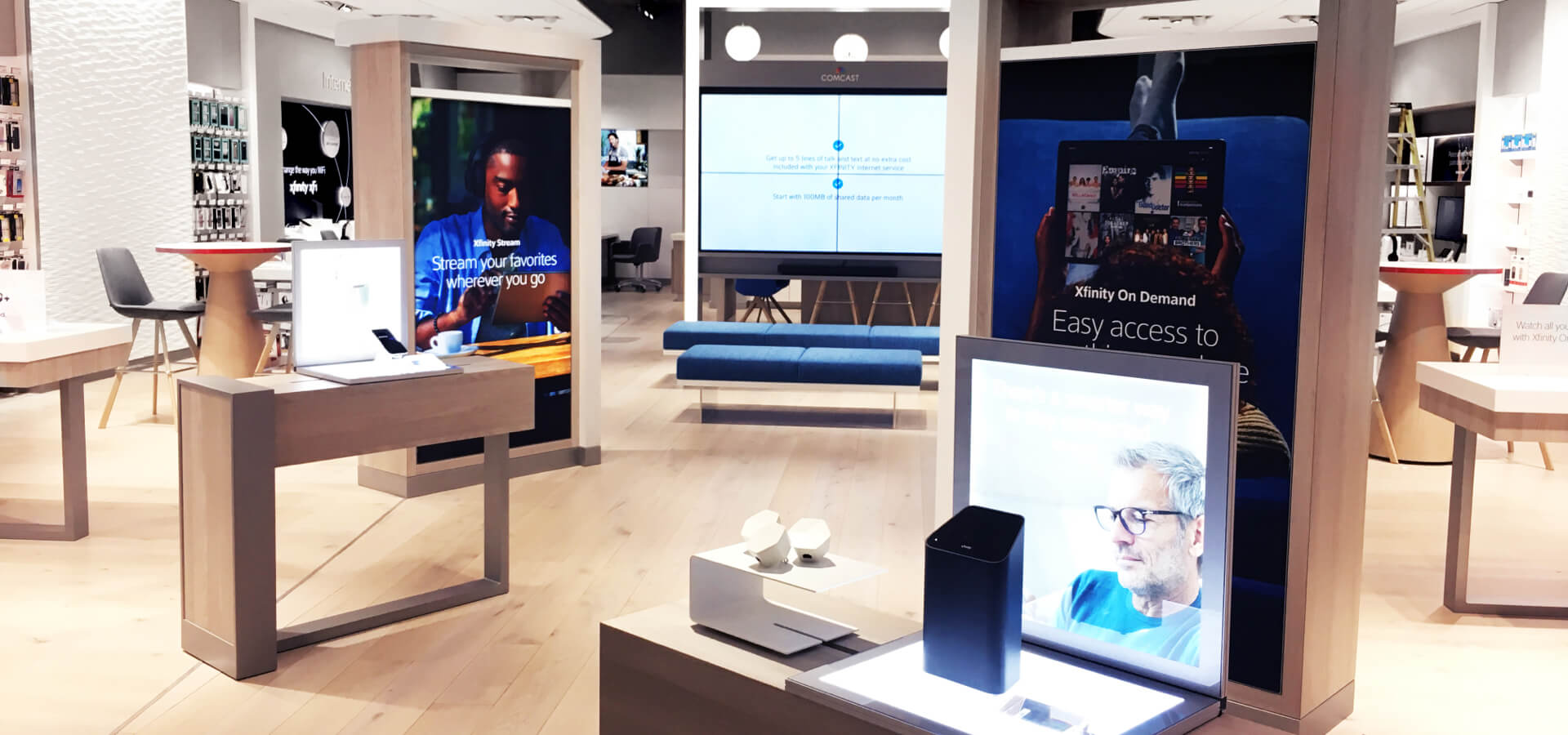 in-store service design experience